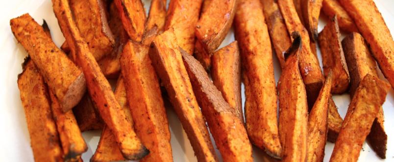 Cinnamon Chili Sweet Potato Fries | BRI Healthy