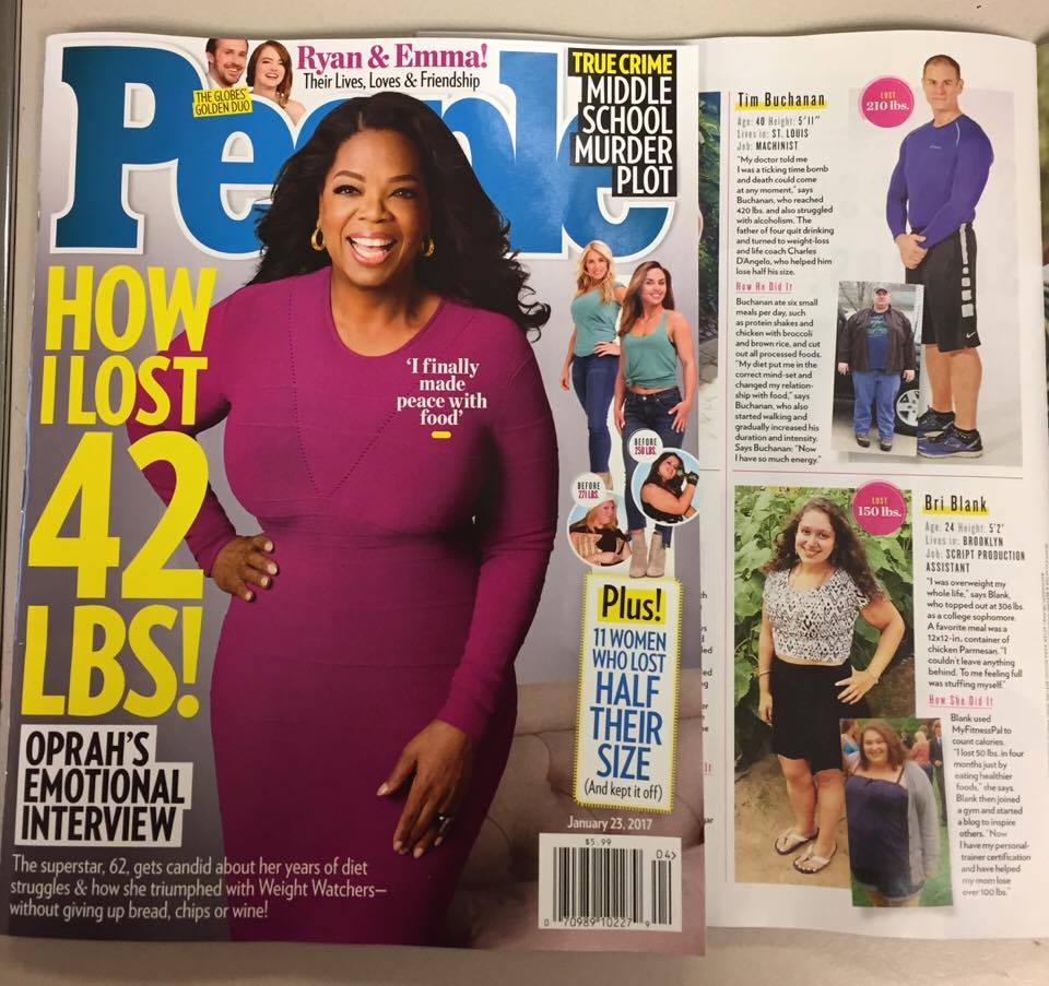 Bri Healthy in People Magazine!