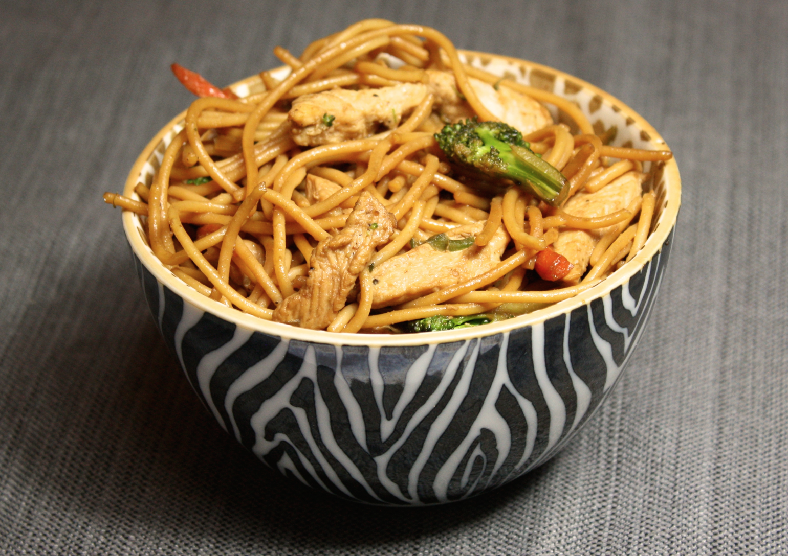 Clean Eating Chicken Lo Mein
